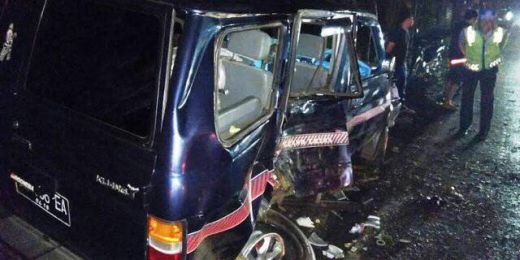 Supir Ngantuk, Rombongan Pemudik di Bali Kecelakaan, 1 Orang Tewas, 4 Lainnya Luka-luka