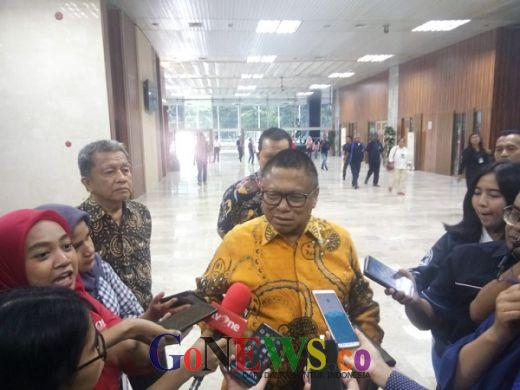 Oso Mengaku Kaget Dapat Penghargaan Putera Utama Bhakti Krida Bareng Maruf Amin