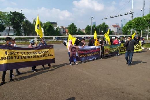 Unras SEMMI Jakarta Pusat Desak Pengungkapan Kasus Djoko Tjandra