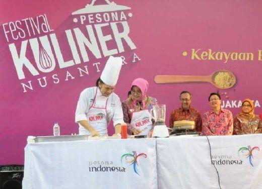 Di Singapura, Selain Launching Wonderful Indonesia-Air Asia, Kemenpar sekaligus Gelar Festival Kuliner Nusantara 2016