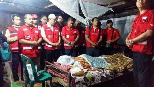Inalillahi, Relawan PMI Meninggal Dunia Akibat Kelelahan dalam Operasi Tanggap Darurat Gempa Lombok