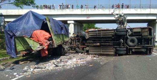 Kecelakaan Maut di Tol Cipali Kembali Terjadi, Empat Orang Tewas