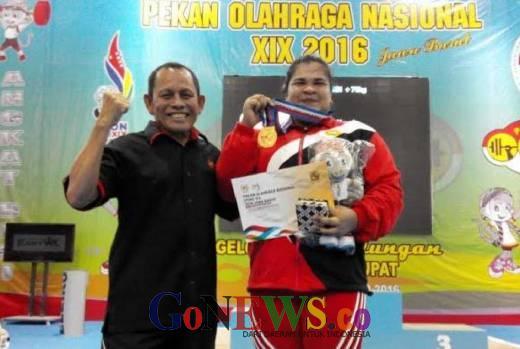 Atlet Angkat Besi Raih Emas, Posisi Aceh Berada di Peringkat 21 Klasemen Sementara