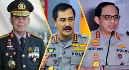 Ini Tiga Kandidat Calon Kapolri Rekomendasi Kompolnas dan Wanjakti