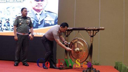 Sinergi Amankan Pemilu, Propam Polri-POM TNI Gelar Rakernis