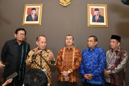 Soal Amandemen UUD 1945 dan Haluan Negara, Ini Saran Pemprov Riau ke MPR RI