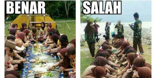 Ketua Kwarnas Sayangkan Aksi Pramuka Makan di Atas Tanah, Itu Bukan Pendidikan!