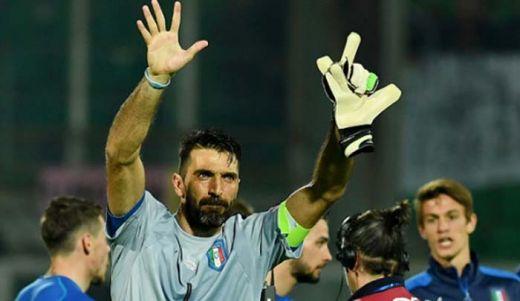 Italia dan Spanyol Menang, Buffon Torehkan Tinta Emas