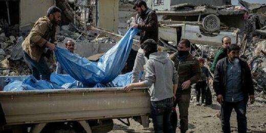 Pasukan Amerika Bombardir Tempat Berlindung Anak-anak dan Perempuan di Mosul, 150 Tewas