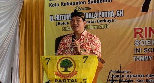 Tommy Soeharto: Partai Berkarya akan Bangun Pesantren Mandiri