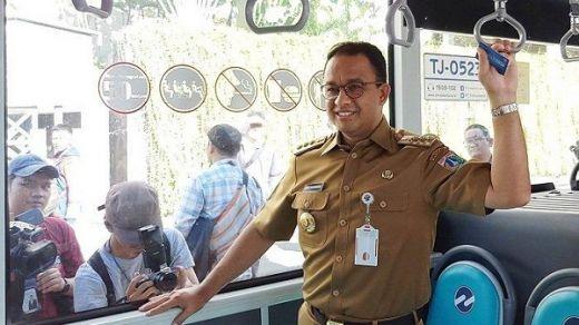 Tepuk Tangan Meriah di Peresmian MRT, Anies Persembahkan untuk Para Pekerja