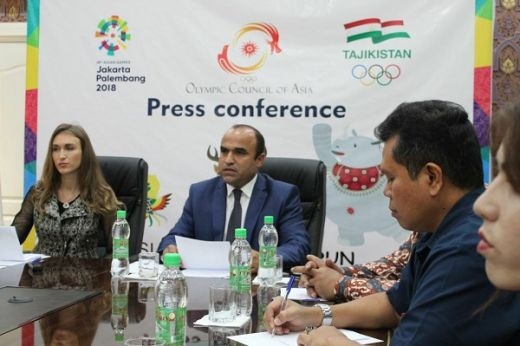Warga Tajikistan Siap Ramaikan Asian Games OCA Fun Run