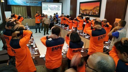 Ini Tips Keselamatan Wartawan Peliput Bencana dari BNPB