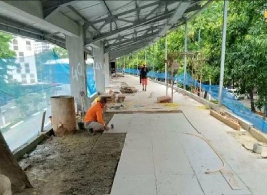 PUPR Siapkan Area PKL Higienis di Kebayoran