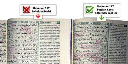 Beredar Alquran Tanpa Surat Al Maidah Ayat 51-57, Ini Alasan Penerbit