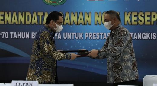 Tingkatkan Prestasi Bulutangkis Indonesia, PP PBSI Berkolaborasi dengan BNI