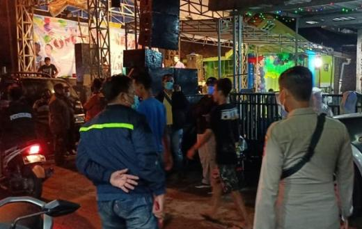 Mengundang Kerumunan, Panggung Dangdut di Mojokerto Dibubarkan Polisi