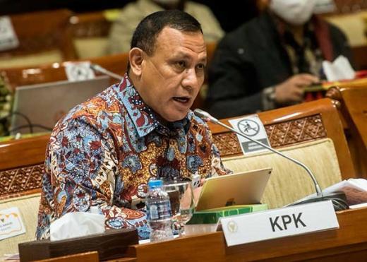 Surati Kapolri, ICW Minta Firli Ditarik dari KPK