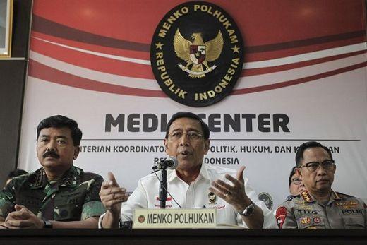 Minta Tak Ada Aksi di MK, Wiranto: Jika Rusuh, Kami Tangkap!