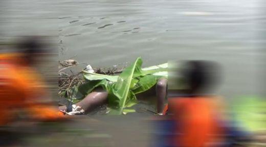 Sesosok Mayat Pria Ditemukan Mengapung di Sungai Siak Pekanbaru