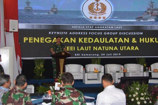 Diskusi Operasi Penegakan Kedaulatan Dan Hukum Di Laut Natuna