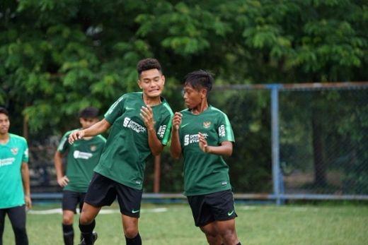 Timnas U 15 Indonesia Langsung Latihan