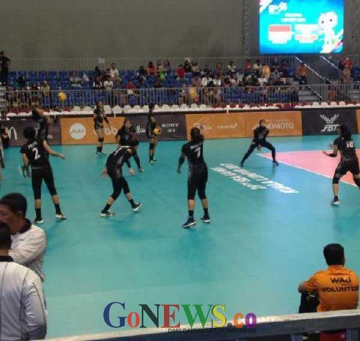Mantap... Tim Voli Putri ke Semifinal Usai Kandaskan Myanmar 3-0