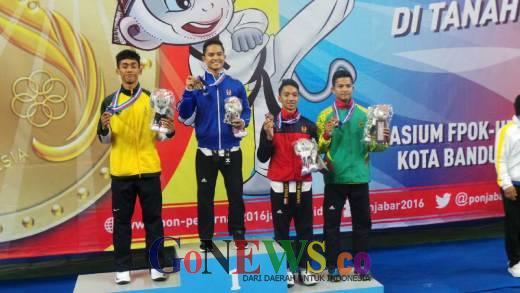 Tuan Rumah Kuasai Emas Hari Pertama Taekwondo, Riau Dapat Perunggu