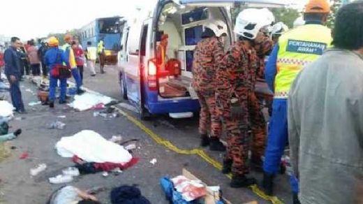 Berikut Identitas 7 TKI yang Meninggal Dunia saat Kecelakaan Maut di Malaysia