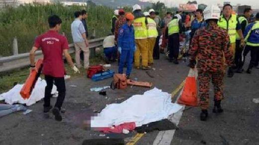 Tabrakan Maut Bus di Penang Malaysia, 7 TKI Meninggal Dunia