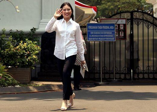 Putri Sulung Hary Tanoe Masuk Istana Jelang Pengumuman Wamen