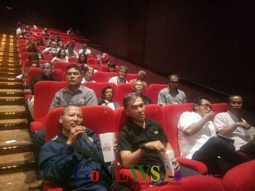 Nobar Film Naga Bonar Reborn di Senayan, Puan Maharani Boyong Wartawan Parlemen
