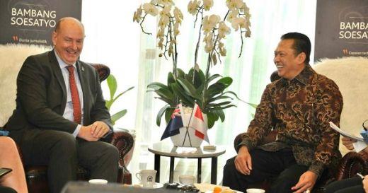 Bamsoet Harap Neraca Perdagangan Indonesia - Selandia Baru Surplus