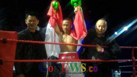 Luar Biasa, Daud Cino Pukul KO Petinju Thailand