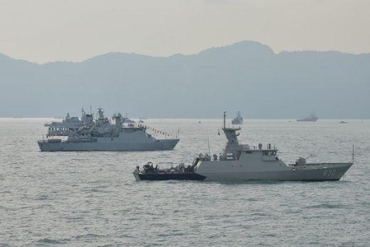 Dua Kapal Perang TNI AL Tiba di Langkawi