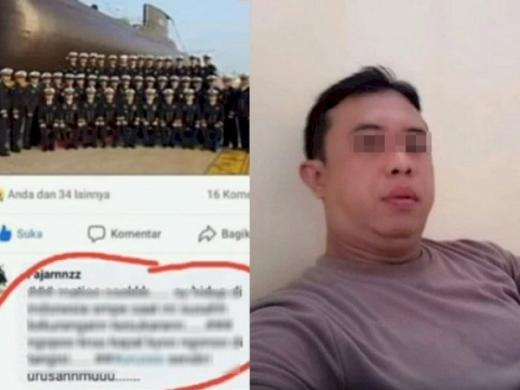 Hujat Personel TNI KRI Nanggala-402, Aipda FI Diamankan Propam Polda DIY