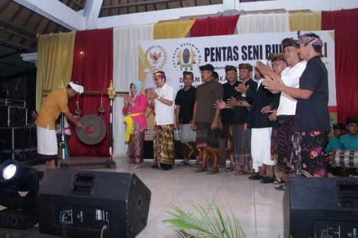 Sosialisasi Unik, MPR Gandeng Seniman Tradisional Prembon dan Penyanyi Bali