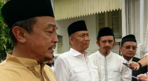 Bertemu Jokowi di Istana, Ini yang Disampaikan GNPF MUI