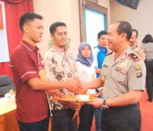 Terdepan dalam Publikasi Polri, Wartawan GoRiau.com Raih Penghargaan Tertinggi dari Kapolda