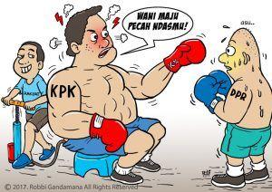 Meski Resmi Keluar Pansus Angket KPK, Gerindra Persilahkan Angket Jalan Terus
