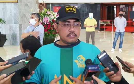 Sosialiasi 4 Pilar MPR RI, Gus Jazil Ajak Peserta Gowes Hidup seperti Lebah