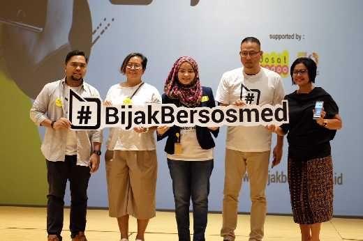 Diluncurkan, #BijakBersosmed untuk Media Sosial Indonesia yang Lebih Baik