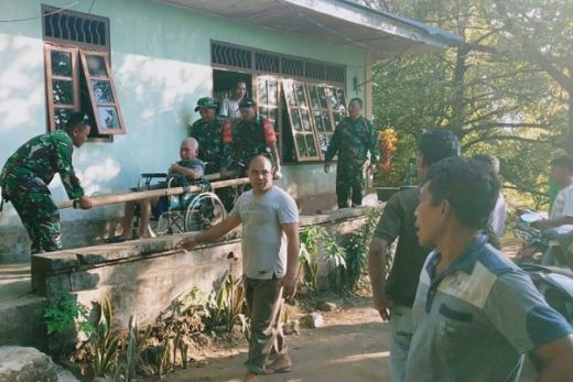 BNPB: 17 KK Diungsikan Pascaguguran Aktivitas Vulkanik Gunung Karangetang