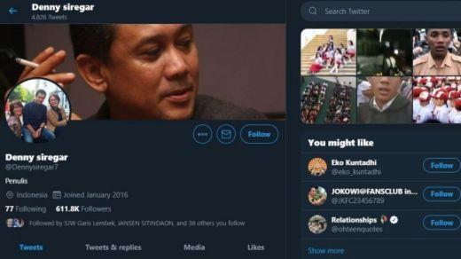 Cibir Anak STM di Twitter, Denny Siregar Dicari Anak STM