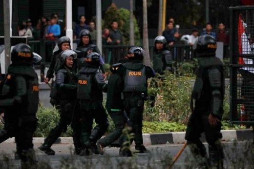 Ini Penjelasan Polri soal Brimob Datangi Wisma Pati TNI AL saat Unjuk Rasa