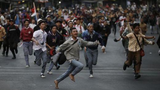 570 Pelajar Pedemo yang Ditangkap Polisi Sudah Dijemput Orang Tua