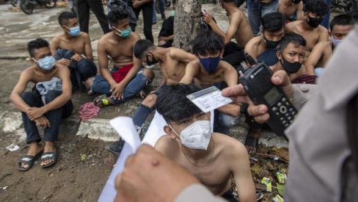 KontraS: Polisi Tangkap Pendemo, Disiksa Baru Dilepaskan