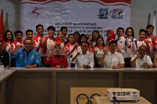 Menpora dan Presiden NOC Indonesia Ajarkan Soal Tata Krama