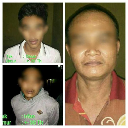 Gergaji Jeruji Besi, 3 Tahanan Polsek Pasir Penyu Inhu Melarikan Diri