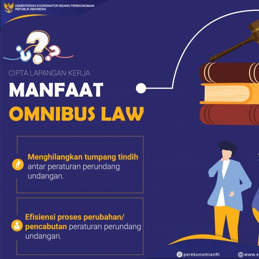 Pemerintah Siap Ajukan RUU Omnibus Law Cipta Lapangan Kerja dan RUU Omnibus Law Perpajakan